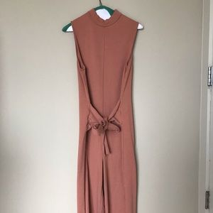 ASOS Jumper Romper Clay Colored Size 4